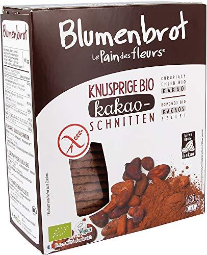 Blumenbrot Bio Knusprige Bio Kakao-Schnitten (6 x 160 gr)
