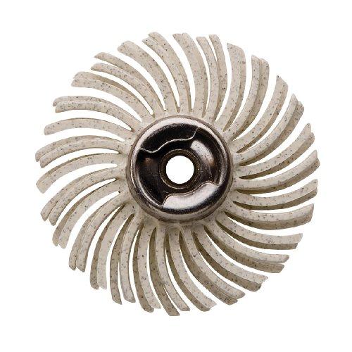 Dremel EZ472SA 120-Grit Detail Medium Abrasive Brush , White