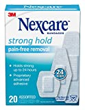 Nexcare Sensitive Skin Bandages, Assorted Sizes, 20 Count Per Box (12 Pack)