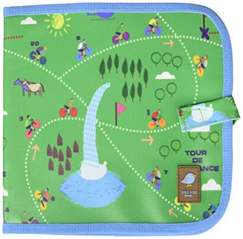 Jaq Jaq Bird CBK-TOURDEFRANCE Color It & Go libro borrable, 8 x 8 pulgadas, multicolor (bicicleta)