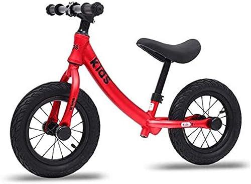 ventas calientes FYXT Coche de Equilibrio para Niños sin Pedal Pedal Pedal Deslizante 1-3-6 años de Edad Scooter Infantil Bicicleta de Dos Ruedas (Color   rojo)  salida