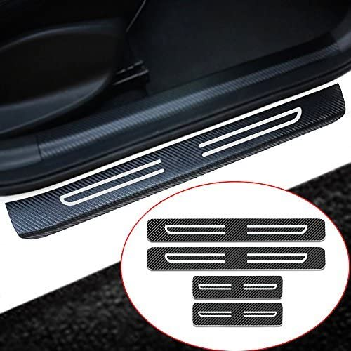 Purchase Muchkey 4pcs Vinyl Car Door Sill Guard Chevy 1 year warranty Film Protector For