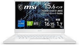 【NVIDIA最新RTX3060搭載・超薄型軽量】MSIノートPC Stealth15M 1.7Kg i7 RTX3060/15.6FHD/144Hz/16GB/512GB/Stealth-15M-A11UEK-001JP【Windows 11...