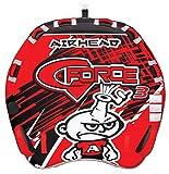 Airhead AHGF-3 G-Force 3 Triple Rider Inflatable Towable Lake Performance Tube
