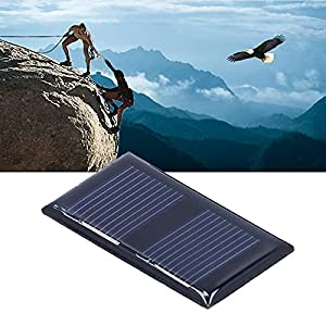 Solar Panel Charger, Low Power Consumption 45x25mm 1V 0.15W Polysilicon Material High Effeciency Solar Panel for Low‑Power Devices for Home Lighting