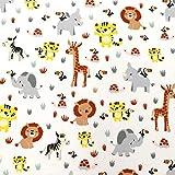MAGAM-Stoffe Tayo Tier-Babys Kinder Baumwollstoff Oeko-Tex