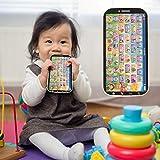 Liyeehao Juguete Educativo Juego de Aprendizaje Juguete para niños Teléfono móvil, 1-10 números Juguete para teléfono Inteligente, para el hogar del niño