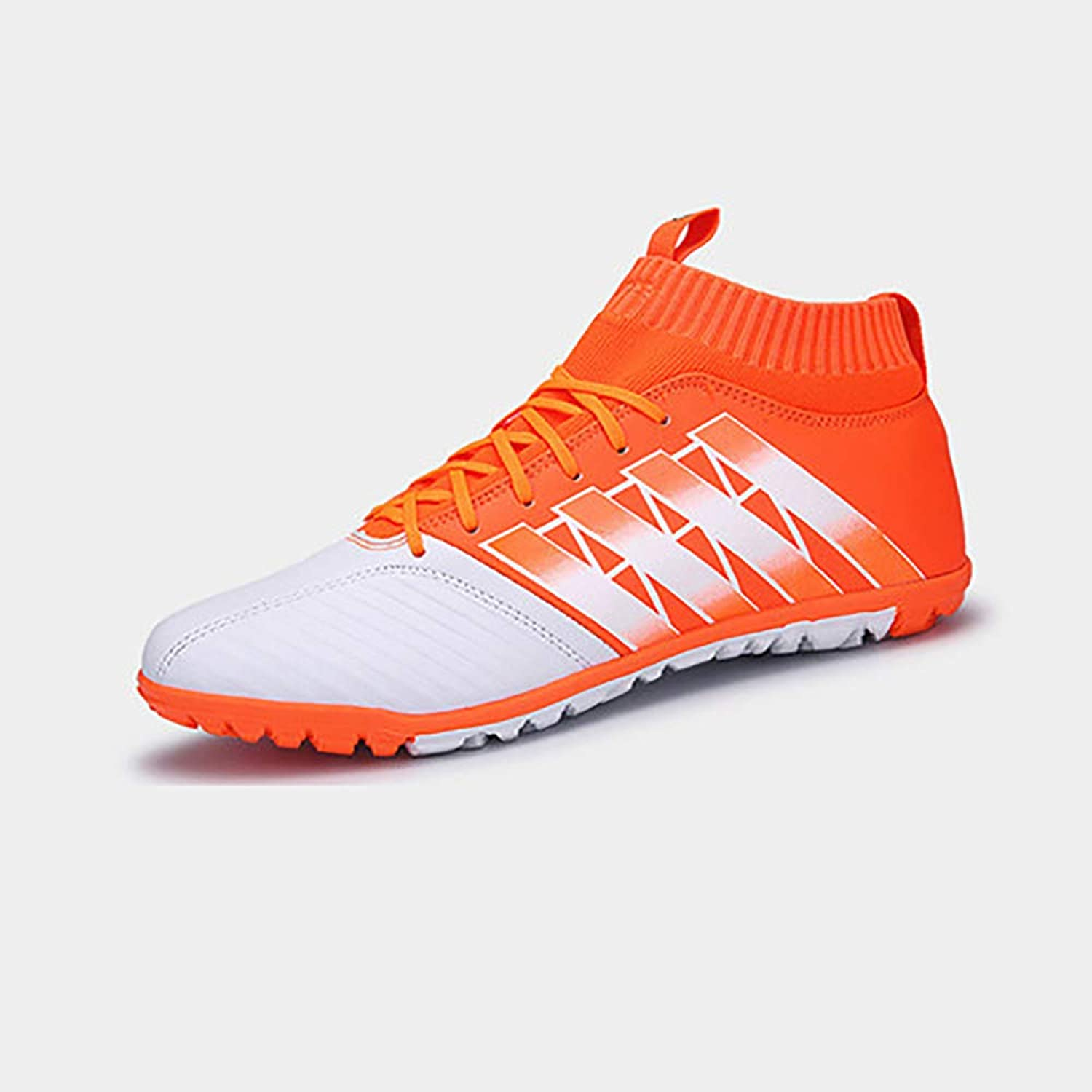 EUR Size 35-44 Men Original High Ankle Football Boots Turf Indoor Soccer shoes Sneakers Football Training shoes Comfortable and Breathable