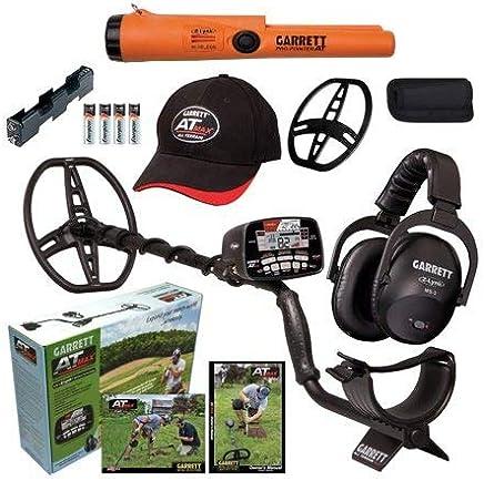 Garrett AT MAX Waterproof Metal Detector, MS-3 Wireless Headphones and Pro-Pointer