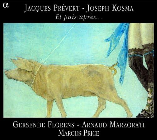 Arnaud Marzorati, Gersende Florens & Marcus Price