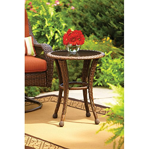 Better Homes and Gardens Azalea Ridge 20' Round Outdoor Side Table