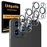 [ 3 Pack] UniqueMe Camera Lens Protector Compatible with iPhone 12 Pro Max 6.7'...