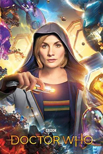 Diy 5D Kits De Pintura De Diamantes Pintura Cristal Rhinestone Bordado Decoración Bordado De Diamantes Carteles de programas de televisión de Doctor Who 3-40X60CM