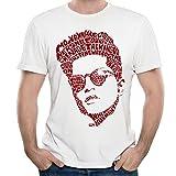 Gildaper Bruno Singer Mars Logo Men's Generic T Shirt White Medium