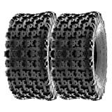 SunF 20x10-9 20x10x9 ATV UTV Tires 6 PR Tubeless A027 [Set of 2]