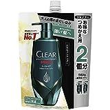 CLEAR(クリア) トータルケア スカルプシャンプー 詰替え用 詰め替え2回分