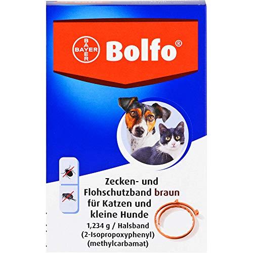 Bolfo Zecken- und Flohschutzband für Katzen und kleine Hunde, 1 St. Ampullen