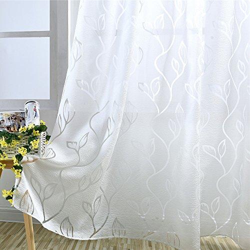 Iraza Transparente Visillos de Panels Modernas para Cortinas Salón Visillos Criba de...