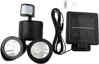 Outdoor Lamp, Easily Installed Solar Light, High Brightness Security Light Energy Saving Garden for Corridors