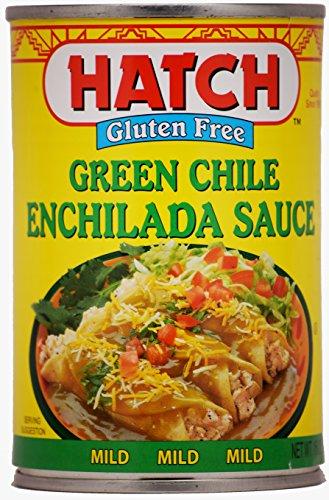 Hatch Green Chile Enchilada Sauce Mild (15oz, Pack of 6)