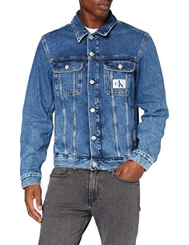 Calvin Klein 90s Denim Jacket Giacca, S Uomo