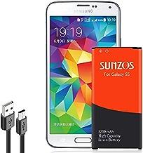 SUNZOS Galaxy S5 Battery, 3200mAh Li-ion Replacement...