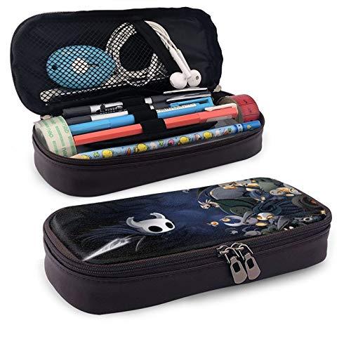 Ho-L-Low K-Ni-G-Ht Estuche de piel sintética con cremallera para lápices, para escuela, hogar, oficina, suministros