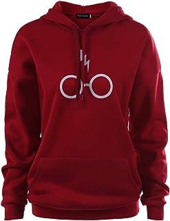 Harry Potter Hoodie Sweatshirt, Soft Comfortable Pullover Hoodie Women Man Boys Girls Coat with Big Pockets