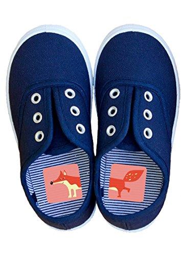 Laufkleber- Schuhaufkleber für Kinder (rosa)