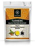 Hebhac Herbs Turmeric Curcumin Powder with Black Pepper...
