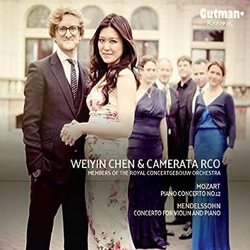 Mozart & Mendelssohn: Concertos