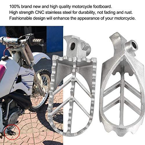 Almohadilla para el pie Reposapiés a prueba de herrumbre para motocross para triciclo para carreras para quads