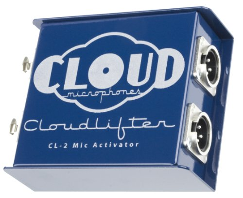 Cloud Microphones - Cloudlifter - CL-2 Dynamic/Ribbon Mic Activator Inline Preamp - Handmade in the USA
