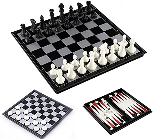 Chess Ranking TOP13 Checkers Backgammon 3 Surprise price in Plastic Travel 1 Set