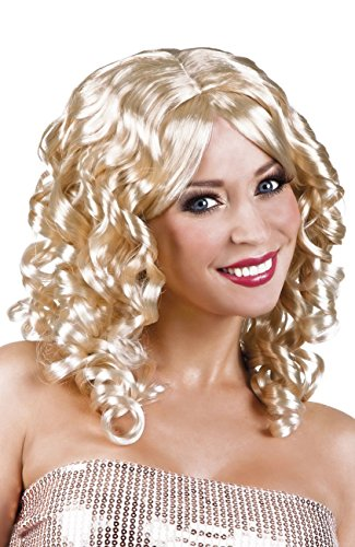 Boland 86211 Erwachsenenperücke Cocktail, blond, One Size