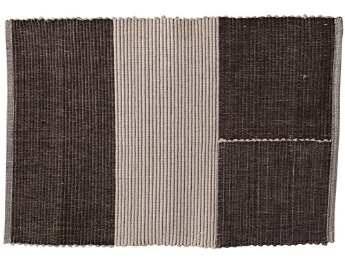 Creative Tops nervuré Tapis avec Couverts Pouch, Multicolore