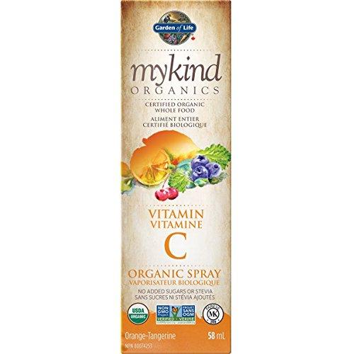 Garden of Life mykind Organics Vitamin C Spray, 58ml - Orange - Organic, Vegan, Non GMO