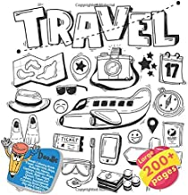 Small Coloring Book Travel, Valentine, Boys, Butterfly, Haven, Cartoon, Dolphin, Boys, Shark, Bear, Angel, Queen, Travel and others. Large 200+ pages. ... (Coloring Book Travel and others Doodle)