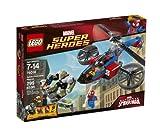 LEGO Marvel Super Heroes Spider-Helicopter Rescue 299pieza(s) juego de construcción - juegos de construcción (Multicolor, 7 año(s), 299 pieza(s), 14 año(s))