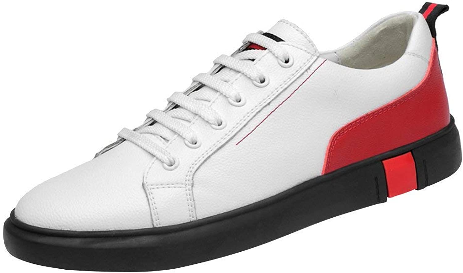 Men's Casual British Style Flat Leather shoes All Match Modern Street Low Top
