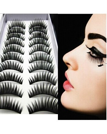 SAMGU 10 Pairs Curl Voluminous Thick False Eyelashes Mink Eyelash Lashes Voluminous Makeup For Party Daily Cosmétique Faux Cils