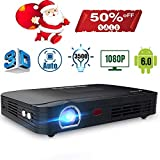 Projector 3500lumens Mini Portable DLP 3D Video Projector Max 300 '' Home Theater Projector Support...