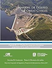 Manual de Diseño de Obras Civiles Cap. B. 2. 3 Pruebas de campo para determinar propiedades de los suelos y enrocamientos: Sección B: Geotecnia Tema 2: Mecánica de suelos (Spanish Edition)
