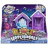 Hatchimals 6047221 CollEGGtibles, Saison 6, Set de Jeu de Salon à Paillettes avec 2 exclusifs, pour Enfants de 5 Ans et Plus, Multicolore