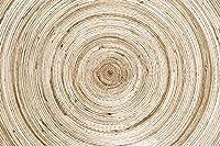 壁の壁画 壁紙 木目一年生リング 壁画 壁紙 ベッドルーム リビングルーム ソファ テレビ 背景 壁 壁面装飾のための,200x140cm