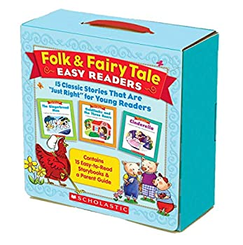 Folk & Fairy Tale Easy Readers Parent Pack  15 Classic Stories That Are  Just Right  for Young Readers