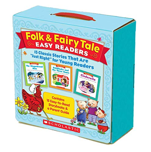 Folk & Fairy Tale Easy Readers: 15 Classic Stories That Are Just Right for Young Readersの詳細を見る