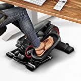 Fair novelty 2020! Mini Exercise cross trainer with App, Stepper DFX100 elliptical for Exercise in the Office & at Home, Workplace Health, no height-adjustable desk necessary Leg & Pedal Trainer