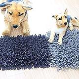 ZONA Gemütlich Puzzle Cotton Pet Hundedecke Blanket Futter Suchen Füttern Spielzeug Teppich-Katze Sniffing Dog Training Pads Decke 30 * 45cm (Farbe : Black)