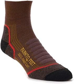 Farm to Feet Damascus Lightweight Elite Hiking 1/4 Crew Socks